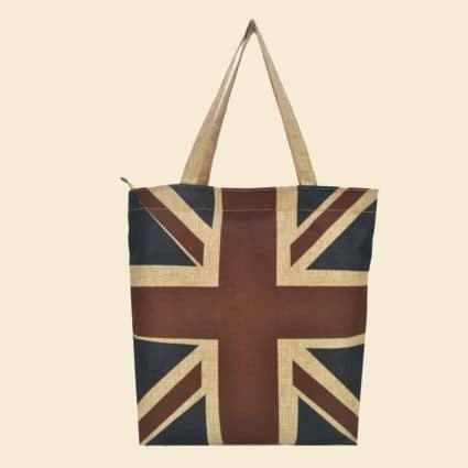Mulepose - Shoppingbag - Med Union Jack