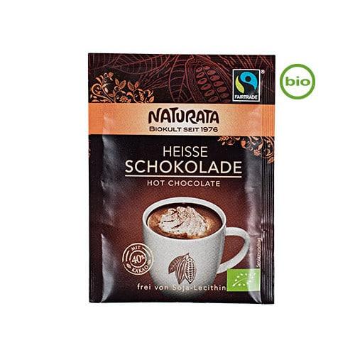 Naturata pulver til vegansk varm chokolade - MyGreenBody.dk