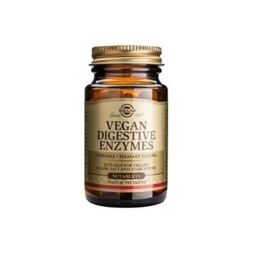 Solgar - Vegan digestive enzymes - 50 stk - Fordøjelsesenzymer