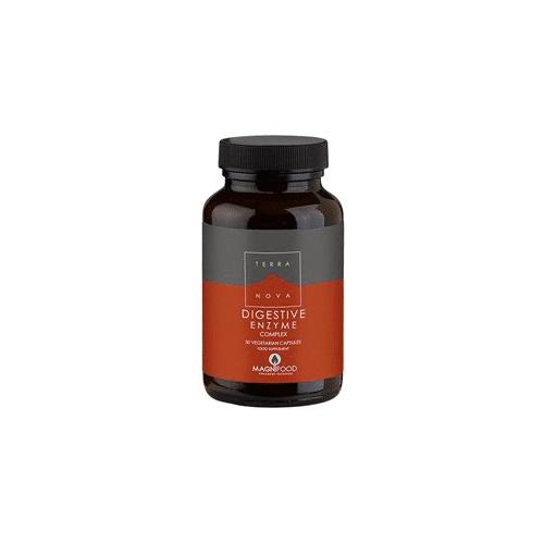 Terra Nova Digestive enzyme complex - veganske fordøjelsesenzymer - 50 stk.